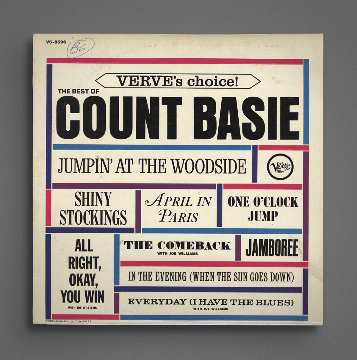 Count Basie Verves Choice The Best Of Count Basie